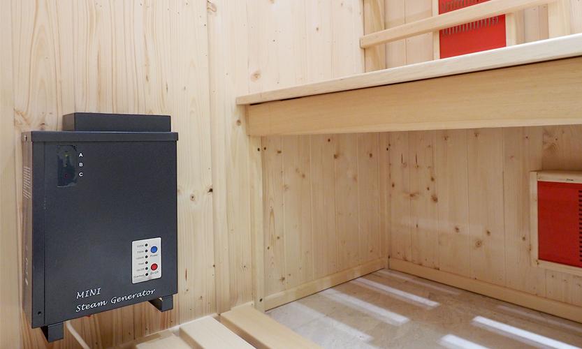 Oceanic Infrared Sauna mini steam generator