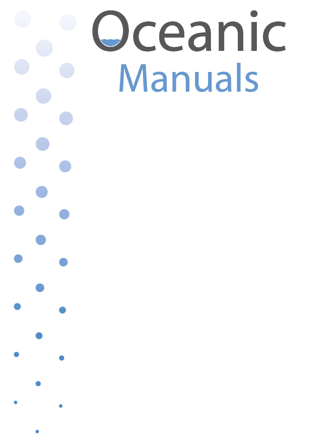 Manuals