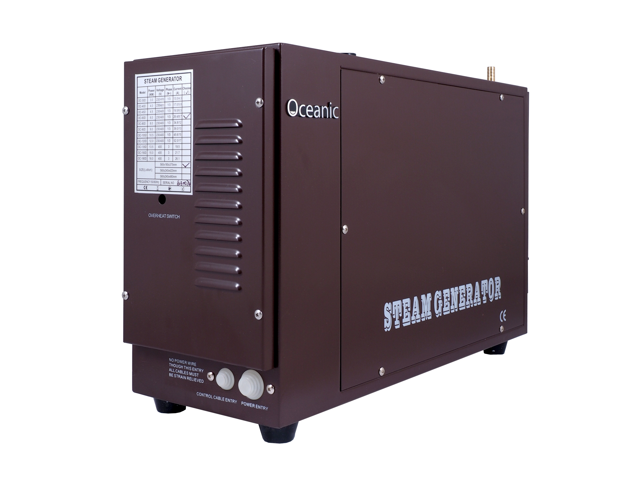Heavy Duty Commercial Steam Generators