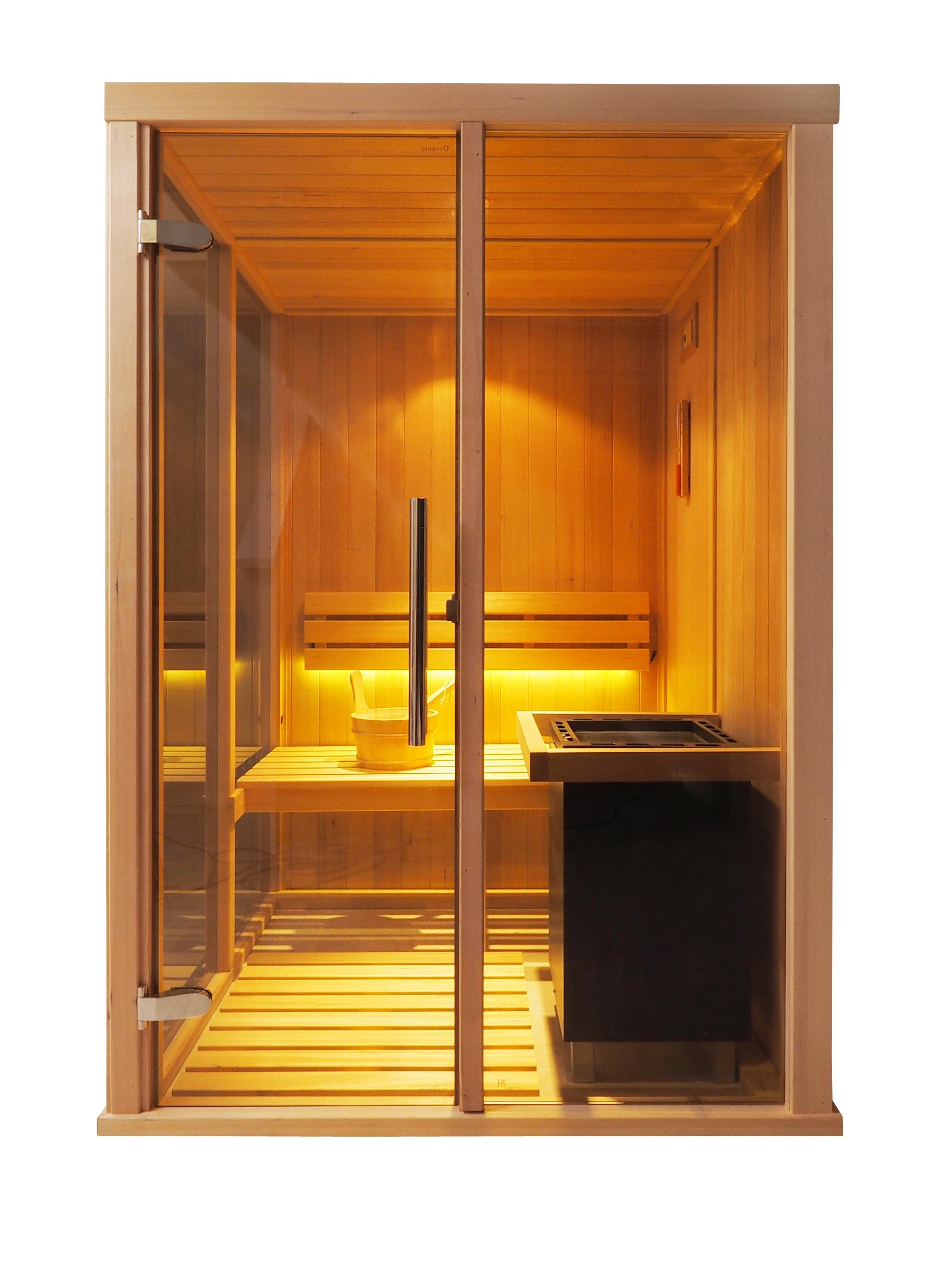 Saunarium en cabina de sauna Vision