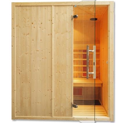 Cabina de sauna con infrarrojos, uso comercial