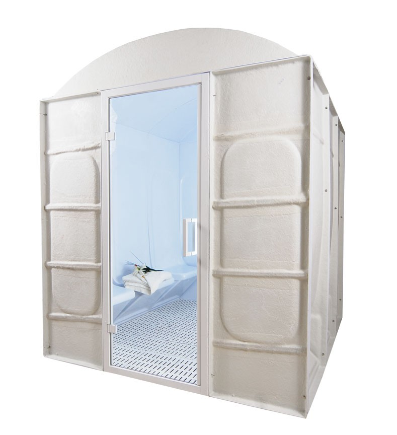 8 Person Acrylic Commercial Steam Room