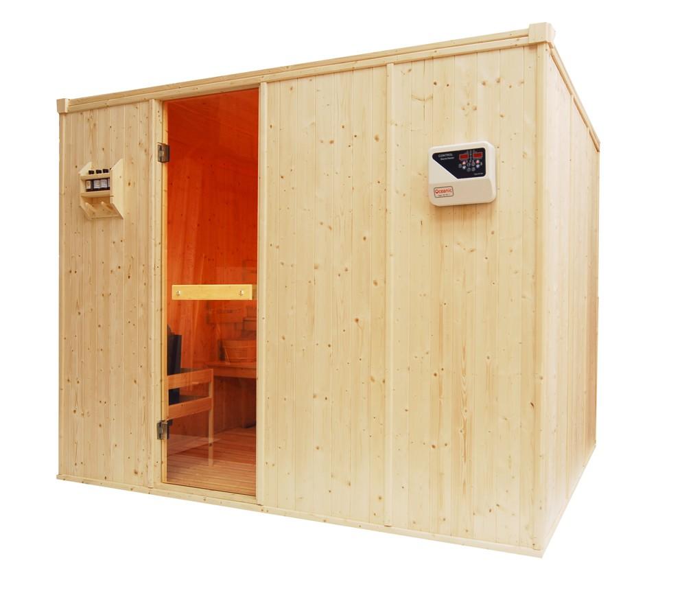 8 Person Traditional Sauna - OS3040