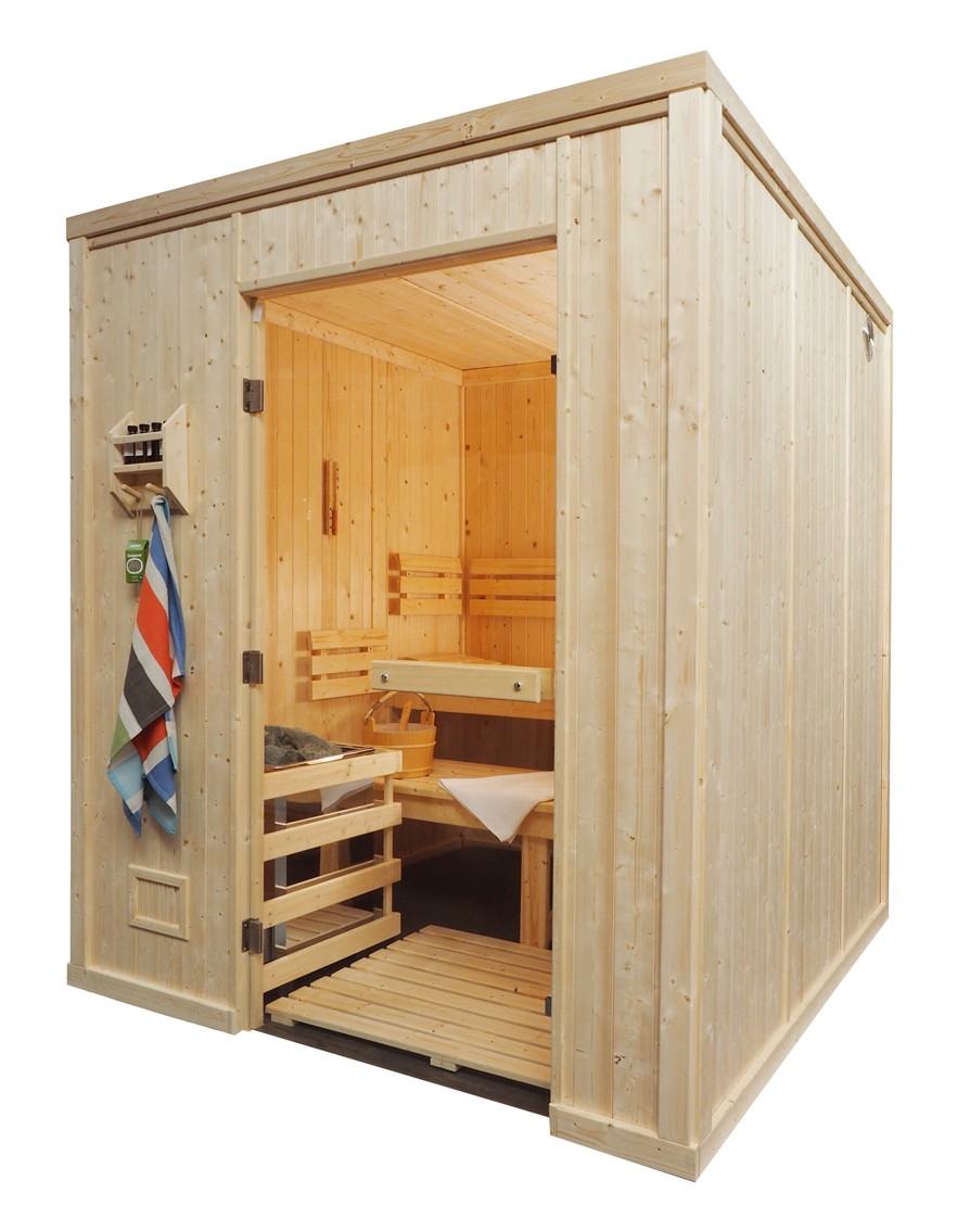 5 Person Heavy Duty Commercial Sauna HD3030FS