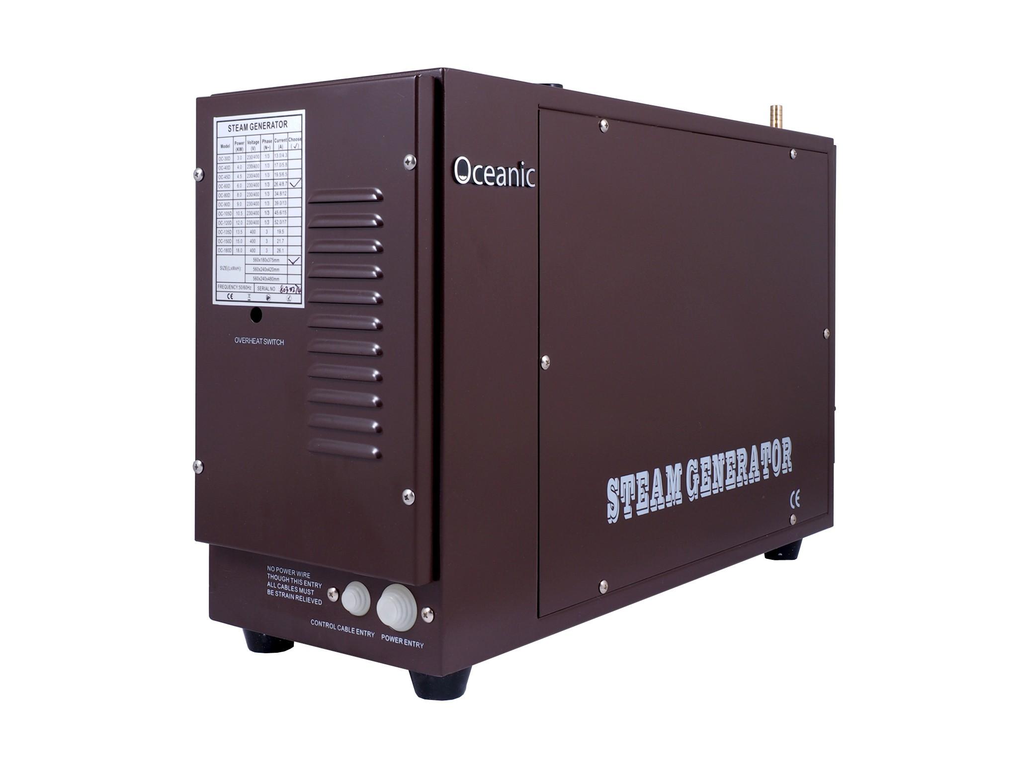 9kW Oceanic Heavy Duty Commercial Steam Generator