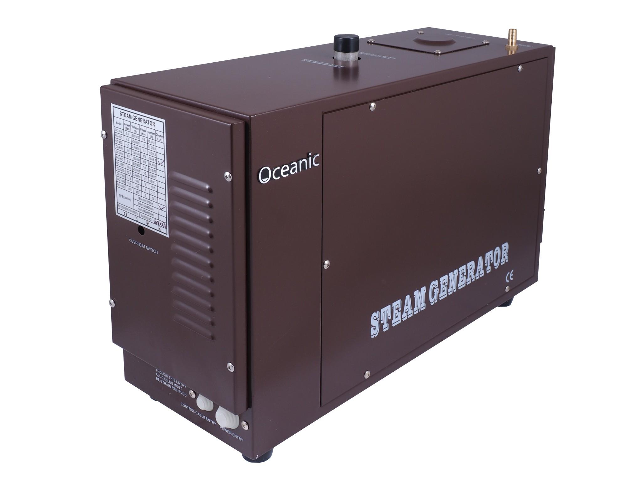 6kW Heavy Duty Commercial OCD Steam Generator