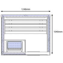 OS1520 Sauna Cabin