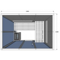 V2030 Vision Sauna Cabin