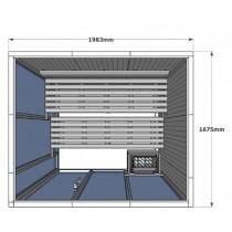 V2530 Vision Sauna Cabin