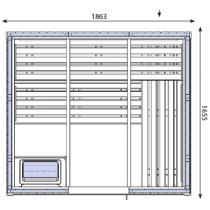 OS2530 Sauna Cabin