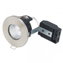 IP65 Saunarium White 12v Fire Rated Downlight Kit - Chrome
