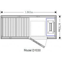 2 Person Traditional Sauna - OS1030