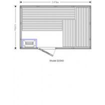 OS2540 Sauna Cabin