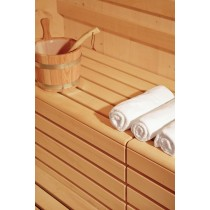 Sauna Bench Protection on bench