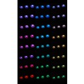12V Steamroom Chromotherapy Lights (x10)