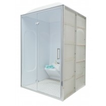 2b roman home acrylic steam room with full glass front