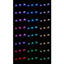 12V Steamroom Chromatherapy Lights (x10)
