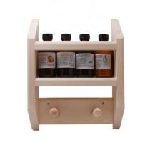 Sauna Essences and Rack