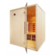 4 Person Home Infrared Sauna L Bench IR2525L