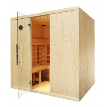 4 Person Home Infrared Sauna L Bench IR2530L