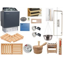 Deluxe Home Sauna Kit & OCSB Controls