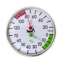 Sauna Combined Thermometer / Hygrometer
