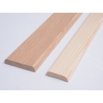 Sauna Joint Overlap Mould (6 pack)