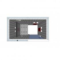 Cabina de sauna con infrarrojos - 1 persona - IR1020