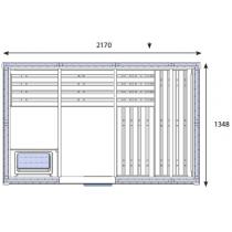 Cabina de sauna finlandesa - 3/4 personas - OS2035