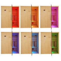 Focos empotrables para sauna con infrarrojos - Cromoterapia - Luz de colores