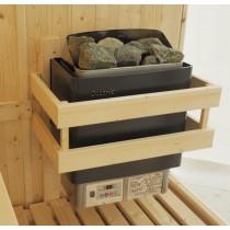 Protector de calentador de sauna, 3 lados
