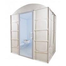Baño de vapor romano prefabricado, para 4 personas