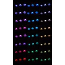Cromoterapia para baño de vapor. 10 LED. 12V