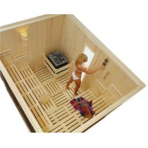 OSC3040 - Cabina de sauna finlandesa tradicional comercial light duty - para 7 personas - uso comercial ligero Oceanic Saunas