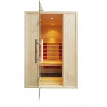 Cabina de sauna con infrarrojos - 2 personas - IR2020