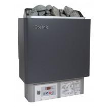 Calentador de sauna con mando de control digital integrado Compact Oceanic 3kW