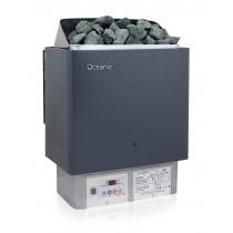 Calentador de sauna con mando de control digital integrado BIC Oceanic 6kW