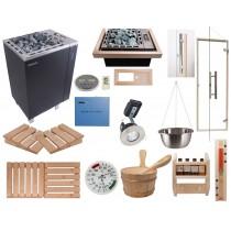 Kit Saunarium Celebration - Material para la instalación de un saunarium en su sauna finlandesa (combi sauna + vapor) Oceanic Saunas