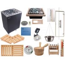 Kit Saunarium Deluxe - Material para la instalación de un saunarium en su sauna finlandesa (combi sauna + vapor) Oceanic Saunas