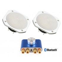 Altavoces para sauna, resistentes hasta 120ºC y al agua IP65, Bluetooth
