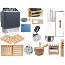 Kit de instalación para sauna finlandesa - Calentador con control exterior *Deluxe* Oceanic Saunas