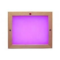 Cromoterapia para sauna de LED