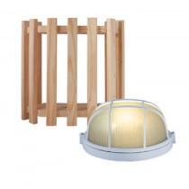 Luz de sauna : pantalla y bombilla