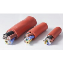 Cable de silicona resistente al calor, 5 hilos, BSEN 6141