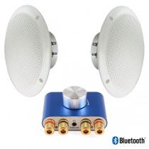 Altavoces resistentes al agua y a temperaturas hasta 80ºC. Sistema Bluetooth