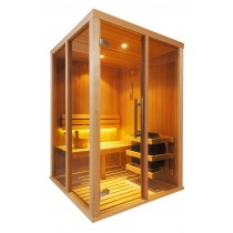 Cabina de sauna finlandesa Vision 2 Personas – V2020