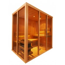 Cabina de sauna finlandesa Vision 3 Personas – V2030
