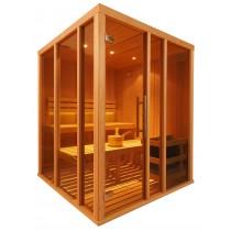 Cabina de sauna finlandesa Vision 4 Personas – V2525