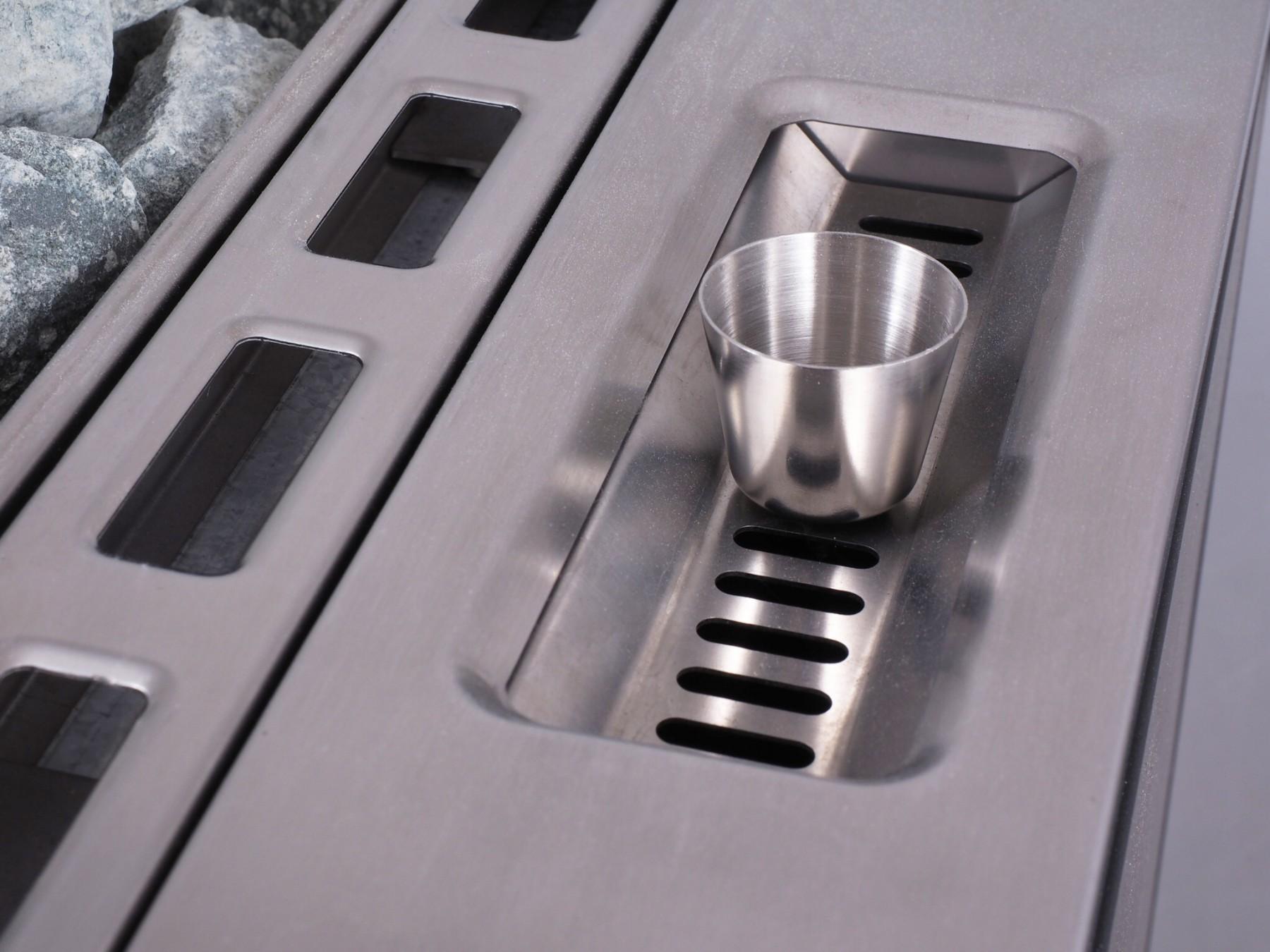 Stufa Per Sauna Finlandese Apollo Da 6kW Con Generatore