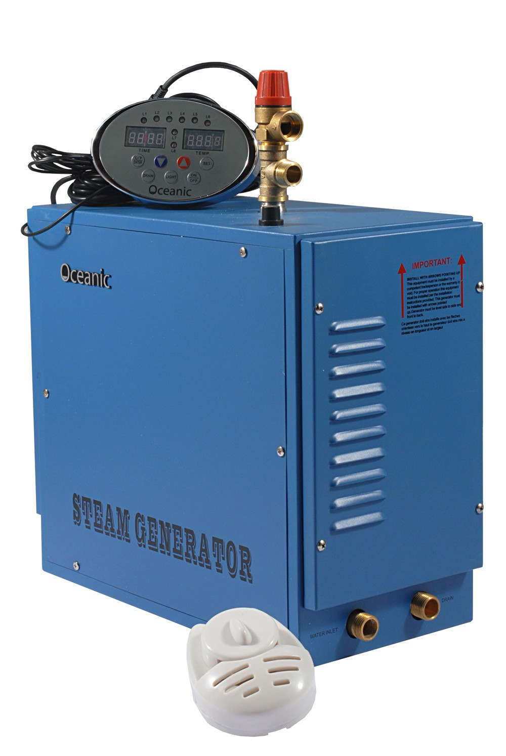 Generatore Di Vapore Oceanic Da 3kW Per Bagno Turco Casalingo